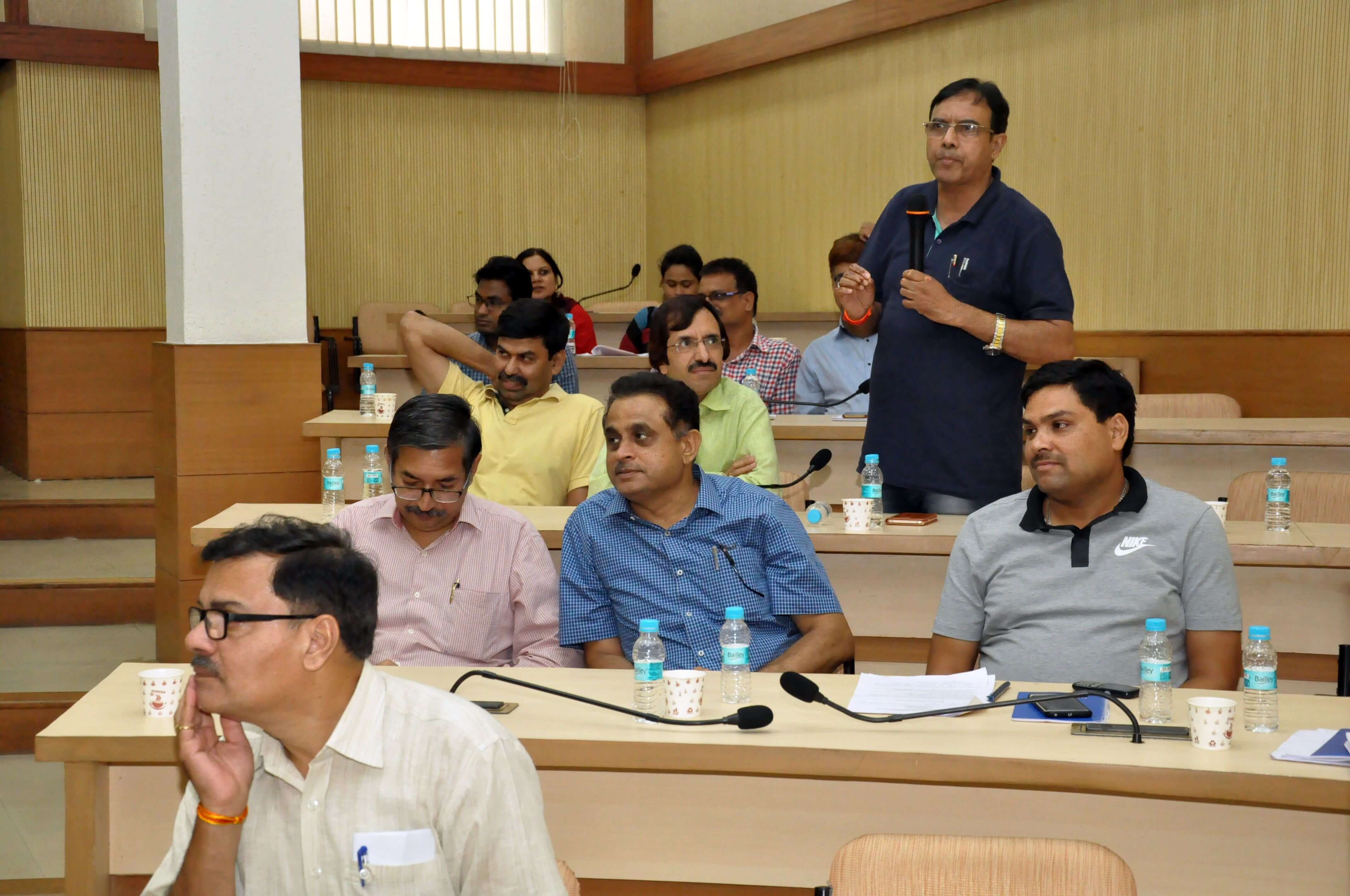Active interaction during Real-time monitoring workshop at Bhopal
