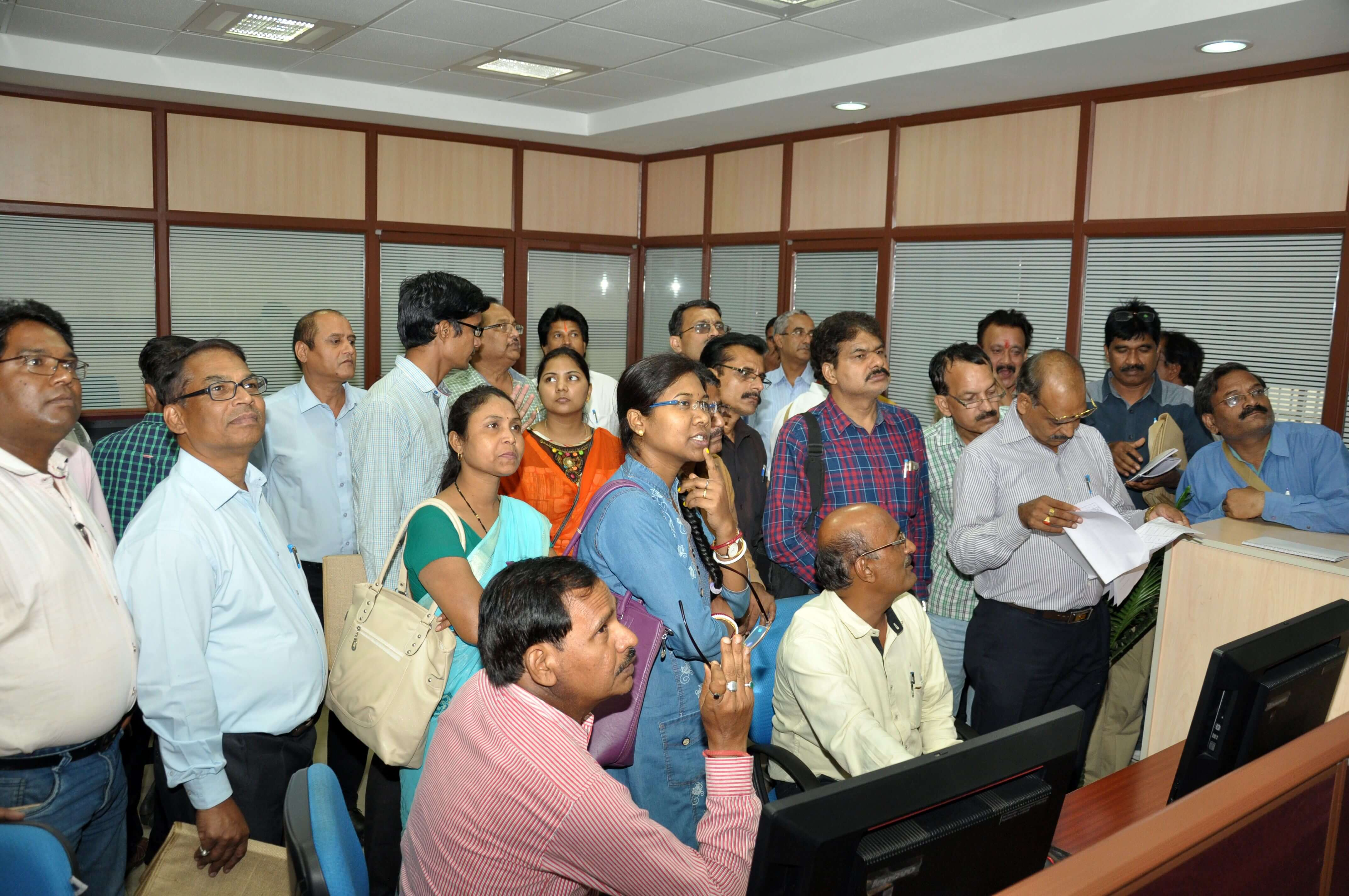 Workshop participants at Environment Surveillance Centre, MPPCB
