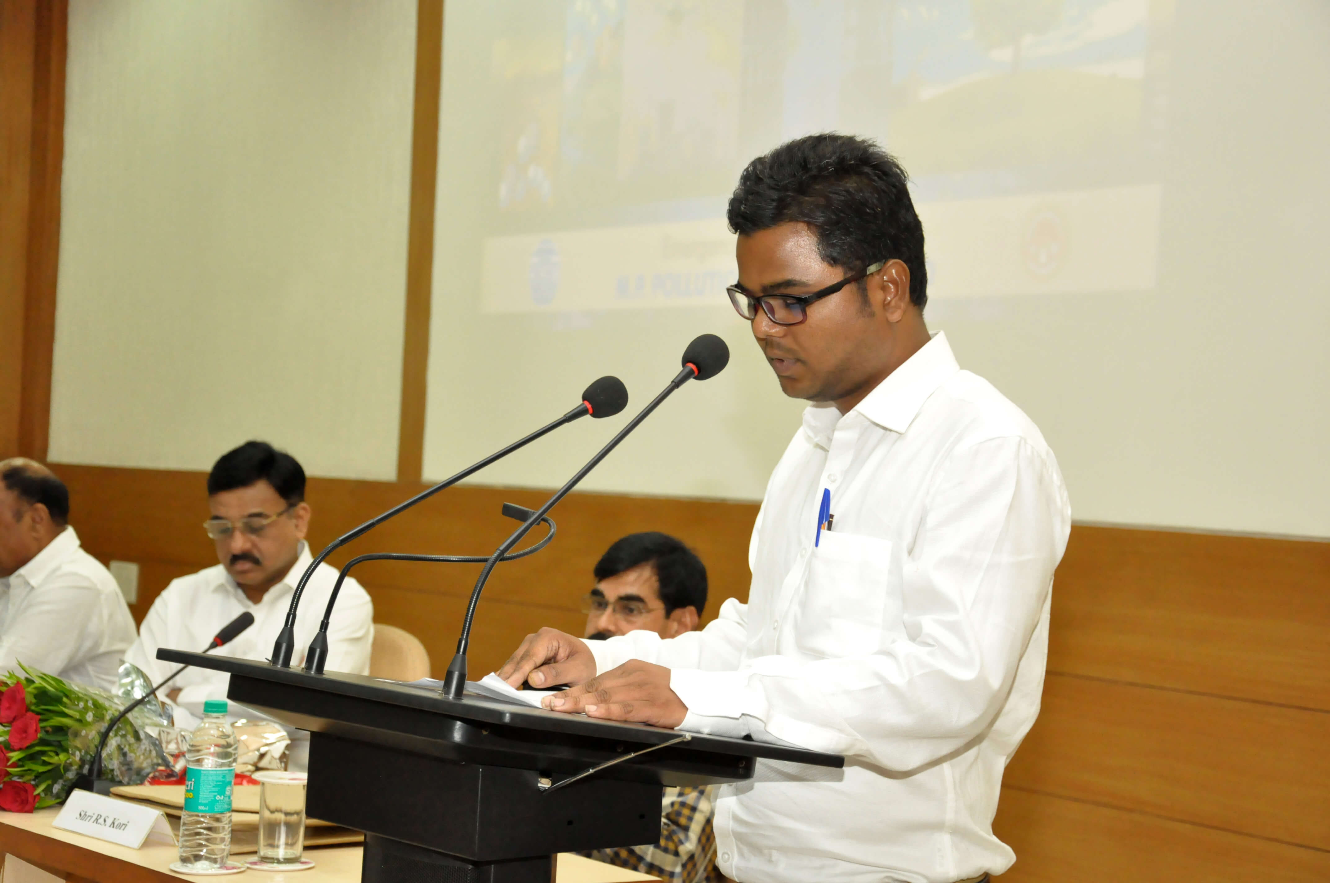 Vote of Thanks by Shri Sandeep Sarwan, ESC, MPPCB